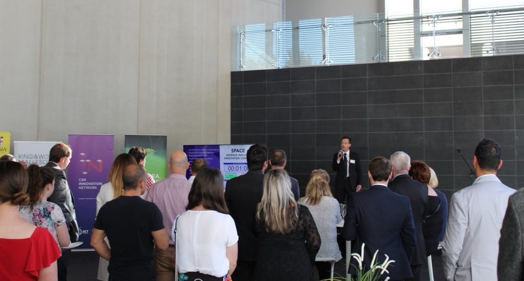 Speaking at the Space: Defence Innovation Industry Connect