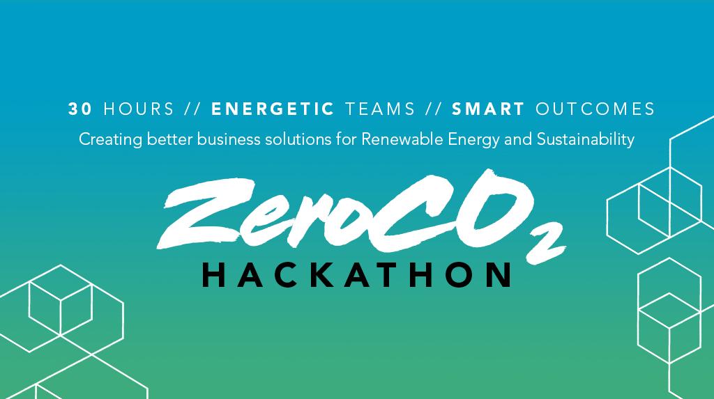 ZeroCo2 Hackathon banner