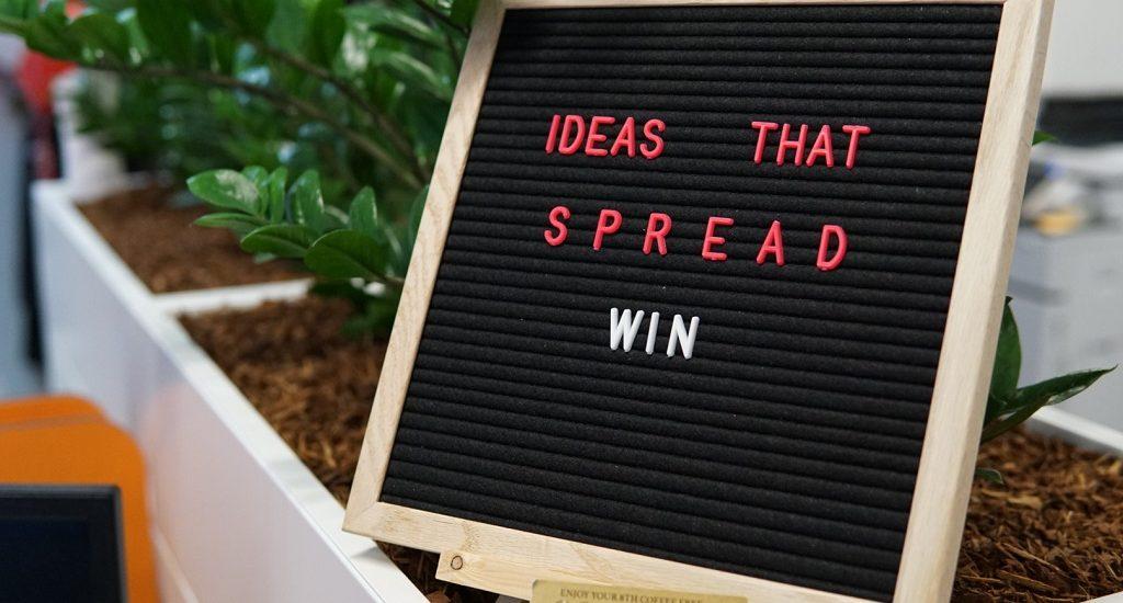 Ideas that Spread, Win.