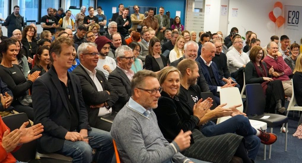 People at an event at the Canberra Innovation Network