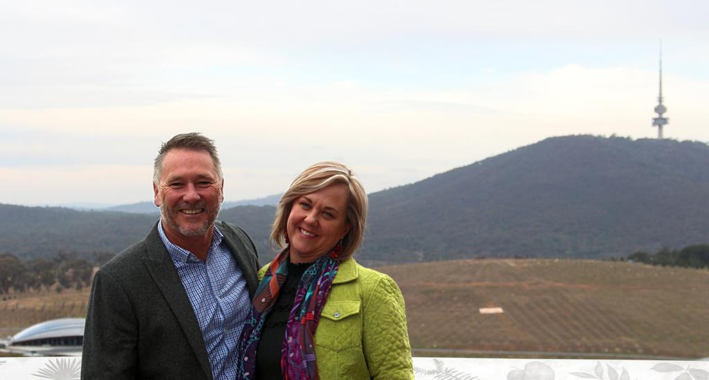 Intelledox Founders Michelle Melbourne and Phillip Williamson