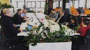 Hotdesks at the Canberra Innovation Network