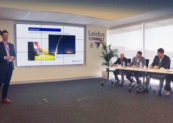 Skycraft presenting at Leidos