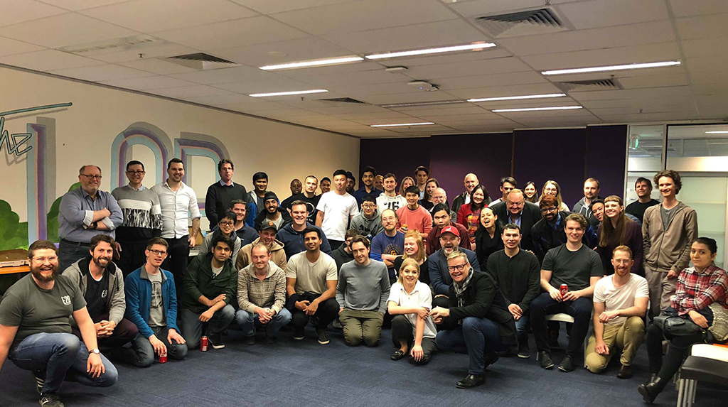 People of level 5 at the Canberra Innovation Network