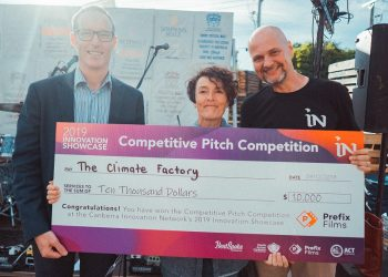 Winner of the Competitive Pitch Competition: The Climate Factory