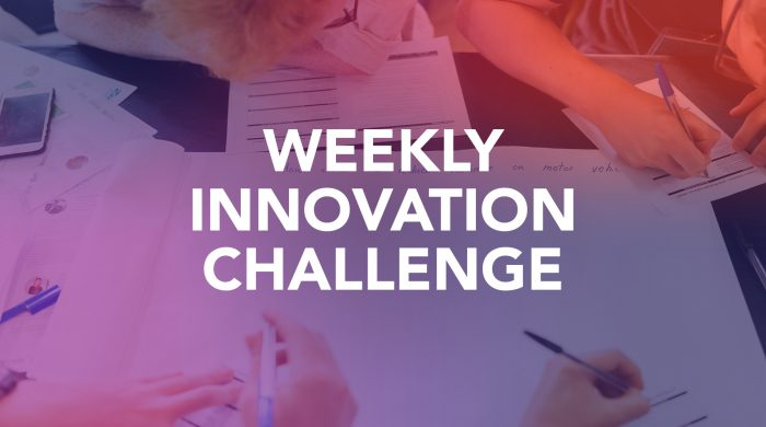 Weekly Innovation Challenge Banner