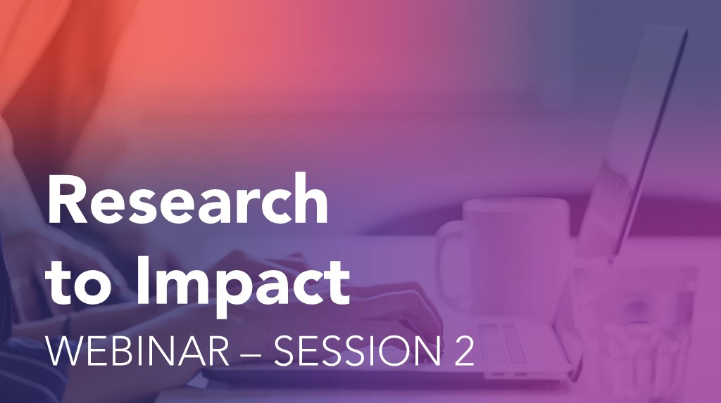 Research to Impact Graphic