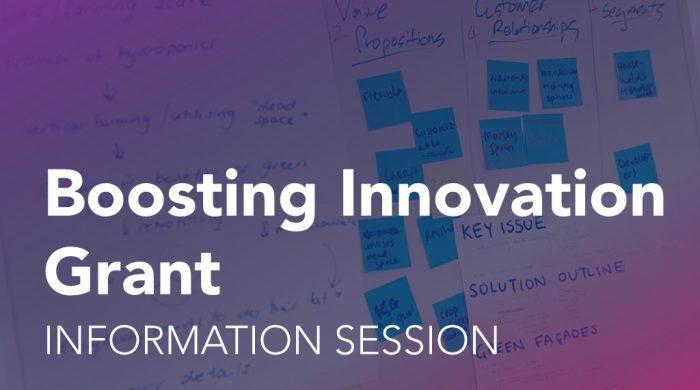 Boosting Innovation Event Tile