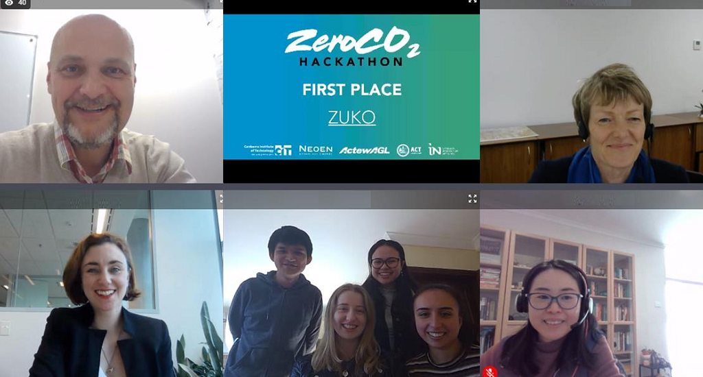 ZeroCO2 Winners Screenshot