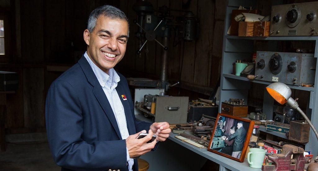 Vikram Sharma, CEO of QuintessenceLabs