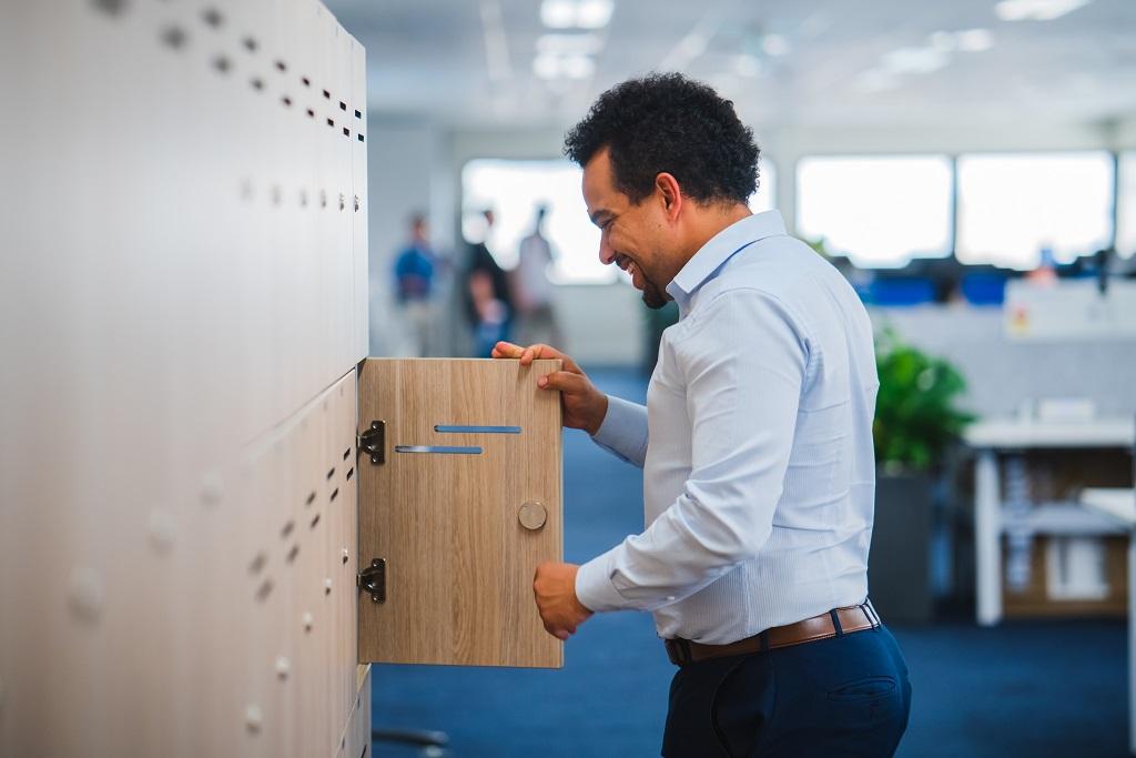 CBRIN Coworking Space Lockers