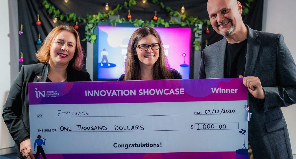Innovation Showcase 2020 Winner, Zoe Piper and Ethitrade