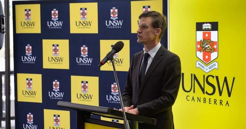 Former UNSW Canberra Rector Michael Frater