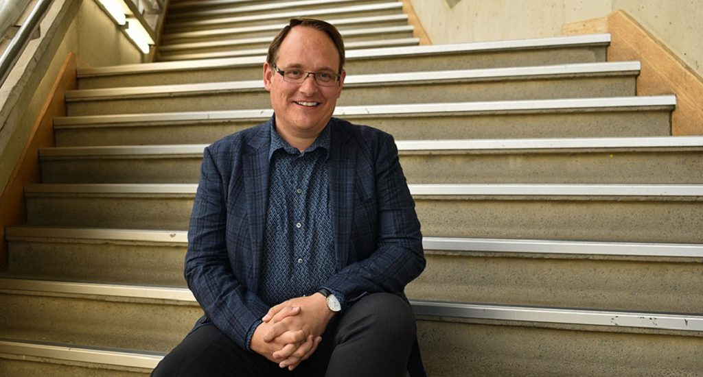 Executive Dean of the Faculty of Arts and Design Professor Jason Bainbridge