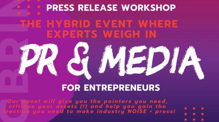 PR and Media for Entrepreneurs