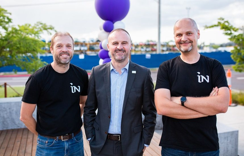 Craig, Andrew and Petr changing the world