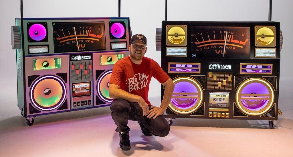 Dan Rawson and his revolutionary DJ Booth